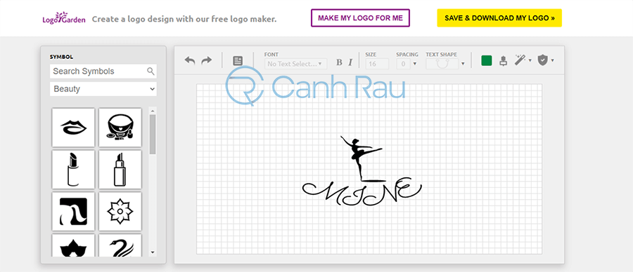 Phần mềm thiết kế logo online miễn phí hình 13