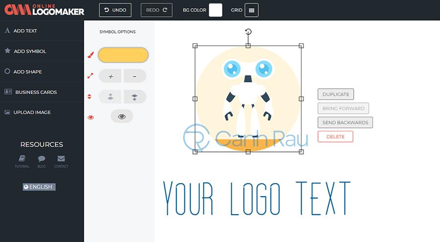 Phần mềm thiết kế logo online miễn phí hình 16