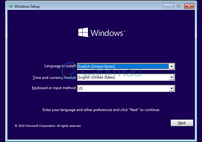 Sửa lỗi Windows cannot be installed to this disk. the selected disk is of the GPT partition style hình 1