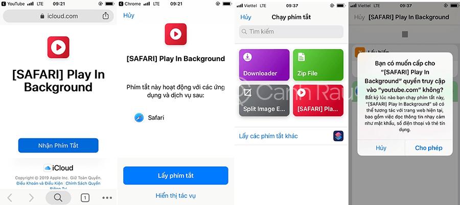 App nghe nhạc Youtube khi tắt màn hình trên iOS hình 8