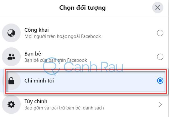 Cách ẩn số điện thoại trên Facebook hình 4
