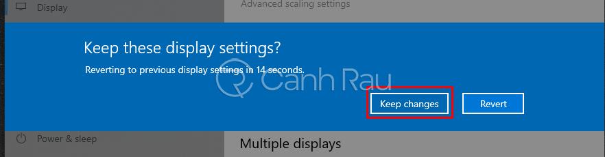 Cách chỉnh độ phân giải màn hình máy tính hình 3
