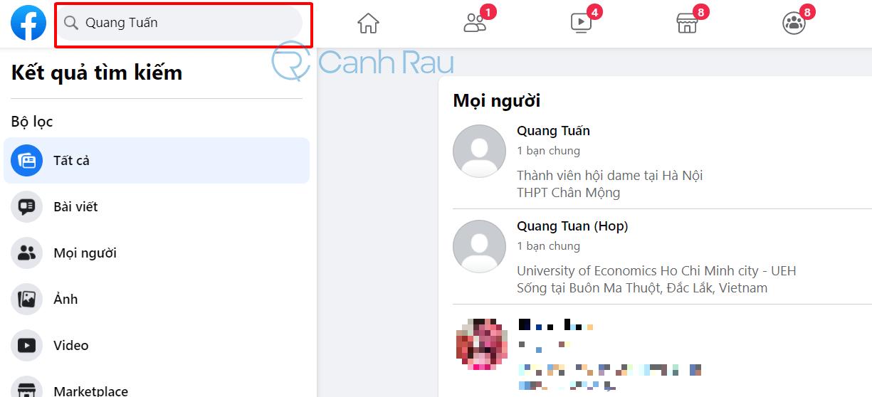 Cách để biết ai đã chặn mình trên Facebook hình 4