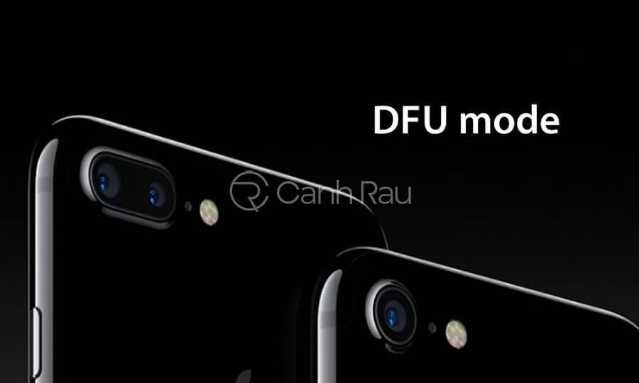 Cách đưa iPhone về chế độ DFU hình 1