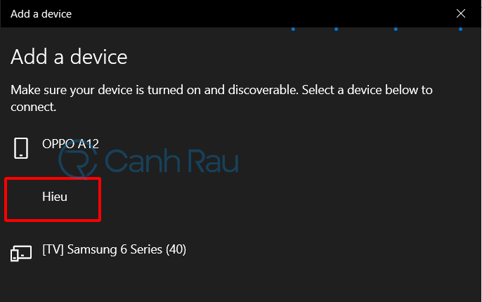Cách kết nối loa Bluetooth với máy tính hình 6
