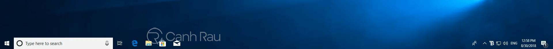 Cách làm trong suốt thanh Taskbar trên Windows 10 hình 16