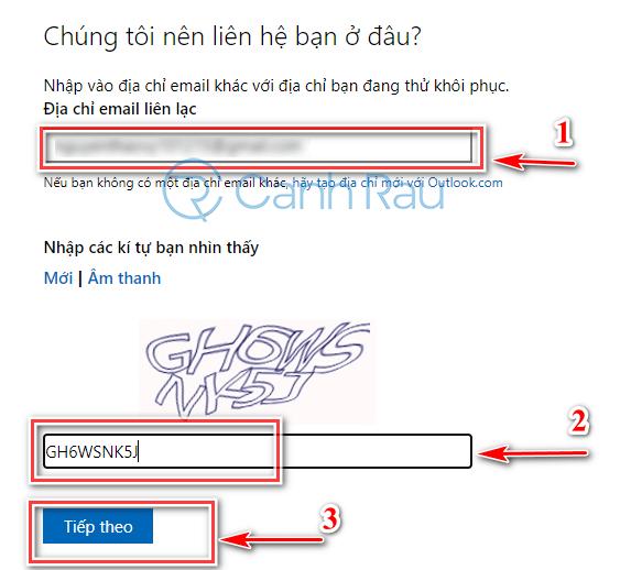 Cách lấy lại mật khẩu Facebook hình 8
