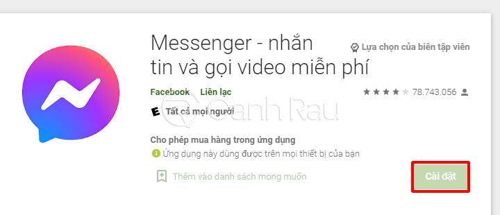 Cách sửa lỗi thường gặp trên Messenger hình 10