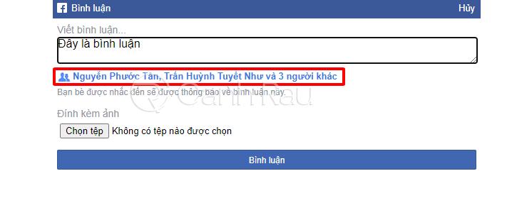 Cách tag nhiều người cùng lúc trên Facebook hình 10