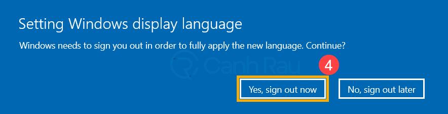 Cách thay đổi cài đặt ngôn ngữ trong Windows 10 hình 11