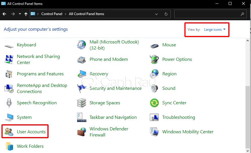 Cách xóa mật khẩu máy tính hình 2