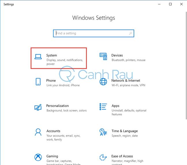 Hướng dẫn bật chế độ ban đêm Night Light cho Windows 10 hình 1