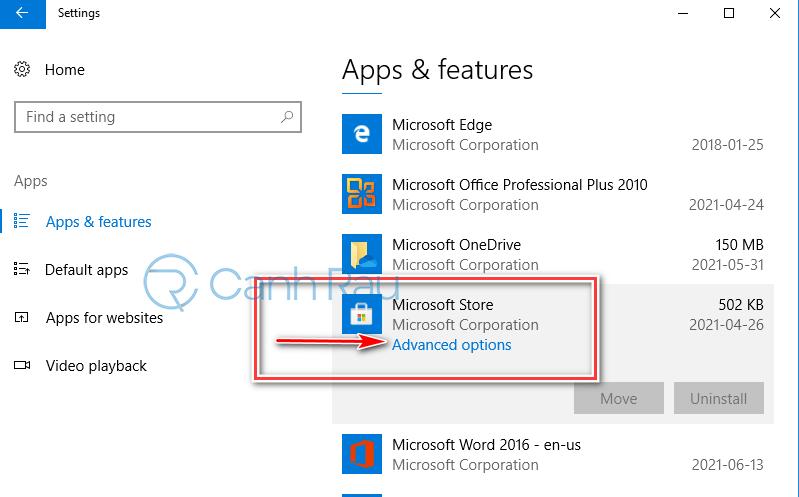 Hướng dẫn cách cài lại Store cho Windows 10 hình 5
