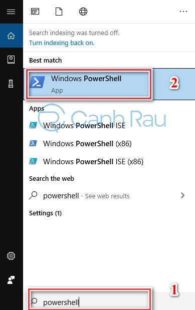 Hướng dẫn cách cài lại Store cho Windows 10 hình 9