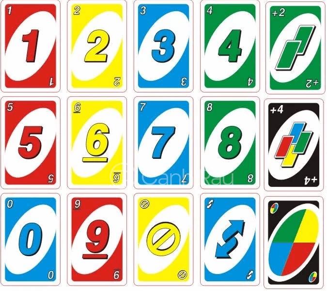 Hướng dẫn cách chơi bài Uno hình 2