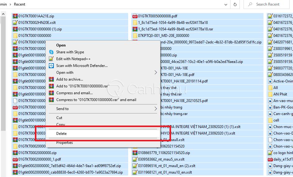 Hướng dẫn cách dọn rác trên máy tính hình 7