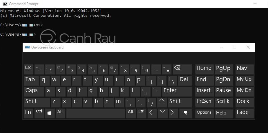 Hướng dẫn cách mở bàn phím ảo trên Windows 10 hình 8