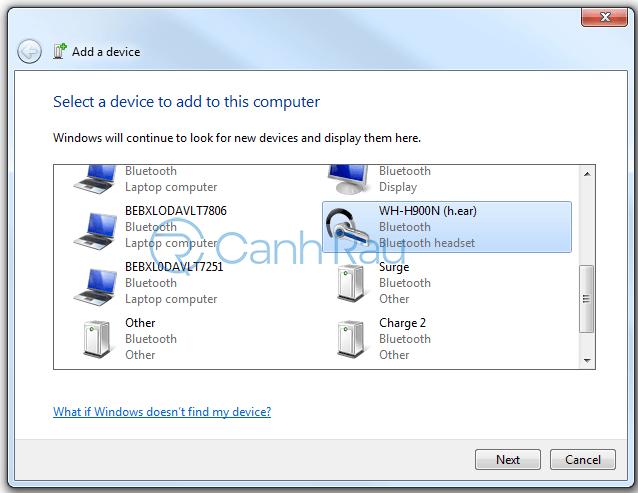 Hướng dẫn kết nối tai nghe Bluetooth với máy tính hình 15