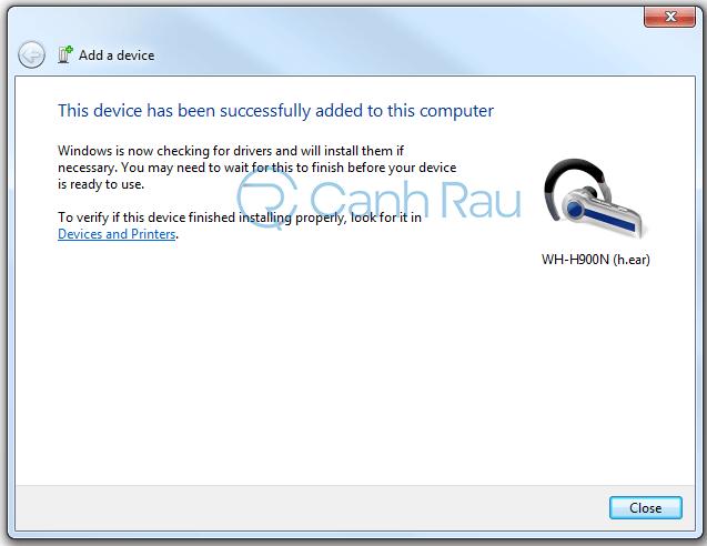Hướng dẫn kết nối tai nghe Bluetooth với máy tính hình 16