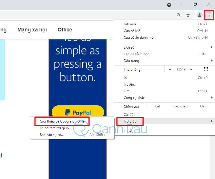 Hướng dẫn khắc phục lỗi Google Chrome ngốn nhiều bộ nhớ CPU hình 1