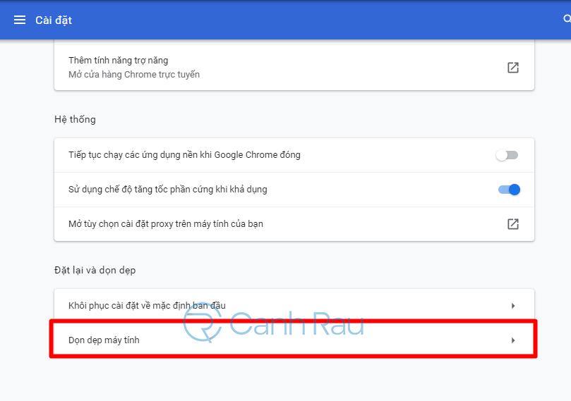 Hướng dẫn khắc phục lỗi Google Chrome ngốn nhiều bộ nhớ CPU hình 10
