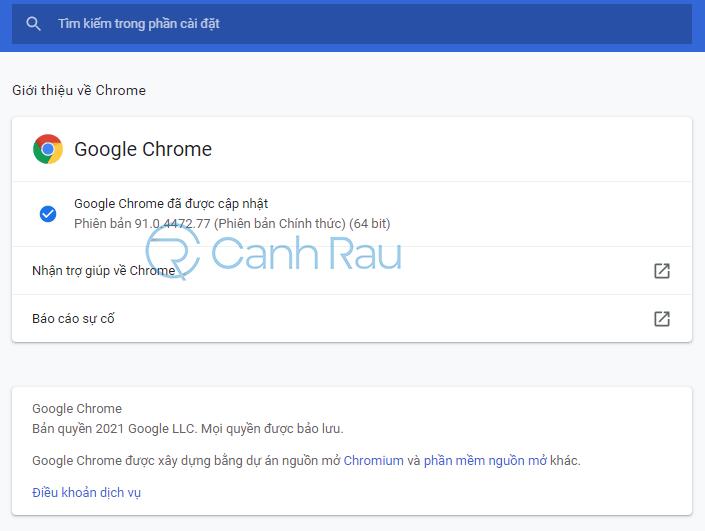 Hướng dẫn khắc phục lỗi Google Chrome ngốn nhiều bộ nhớ CPU hình 2