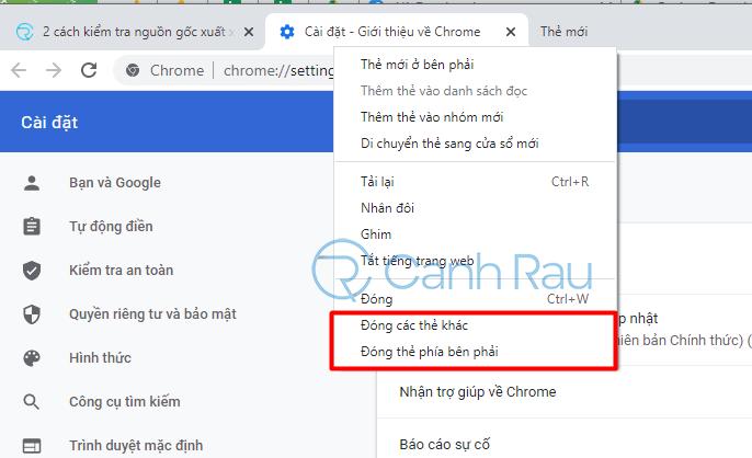 Hướng dẫn khắc phục lỗi Google Chrome ngốn nhiều bộ nhớ CPU hình 4