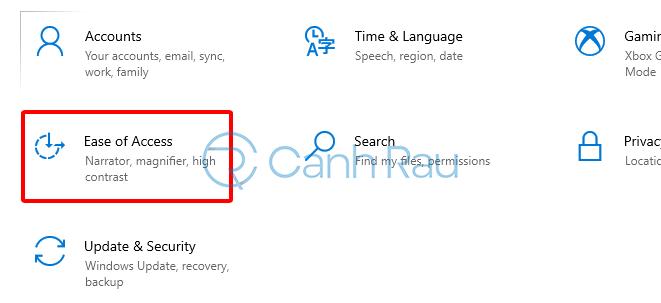 Hướng dẫn sửa lỗi bàn phím Windows 10 hình 10