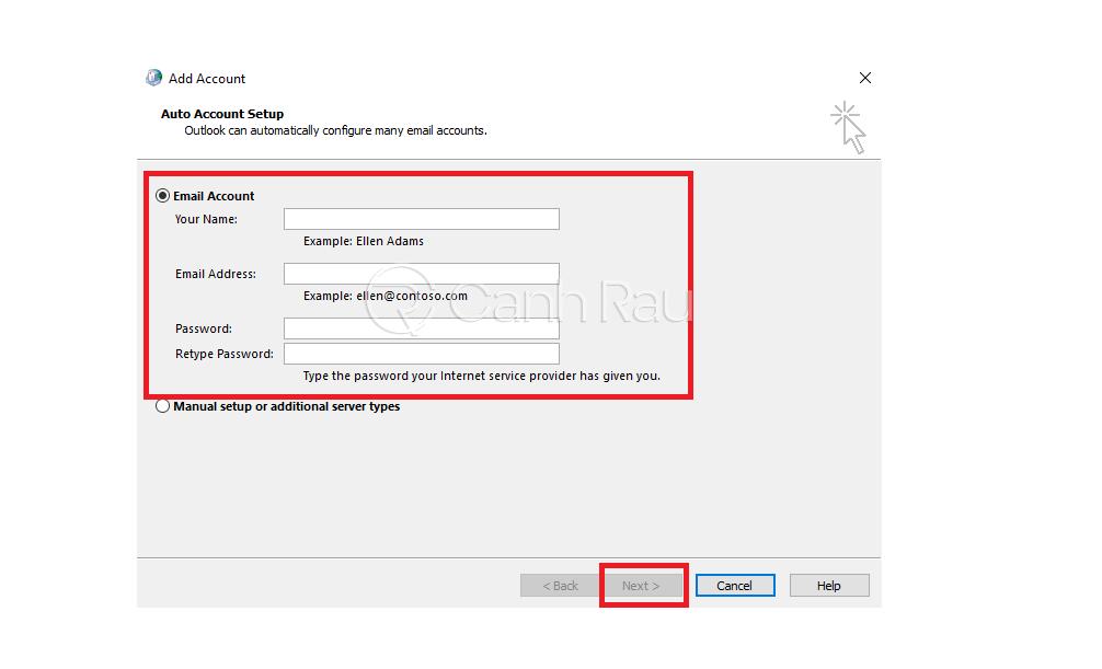 Hướng dẫn sửa lỗi Outlook không nhận được mail hình 17