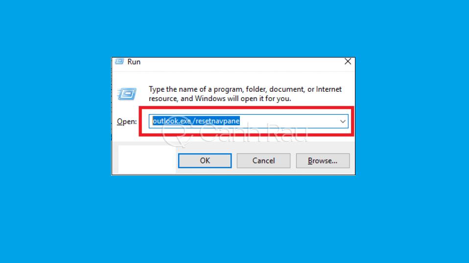 Hướng dẫn sửa lỗi Outlook không nhận được mail hình 6