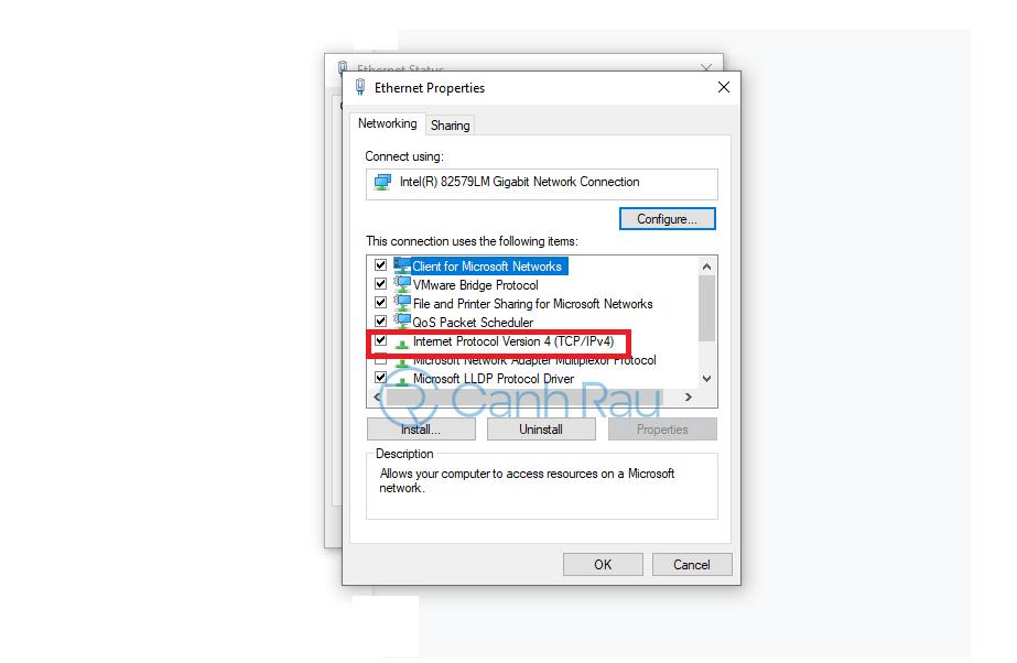 Sửa lỗi không vào được Gmail hình 14