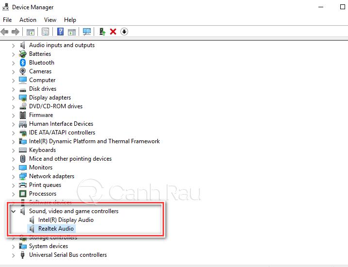 Sửa lỗi máy tính Windows 10 không nhận tai nghe hình 10