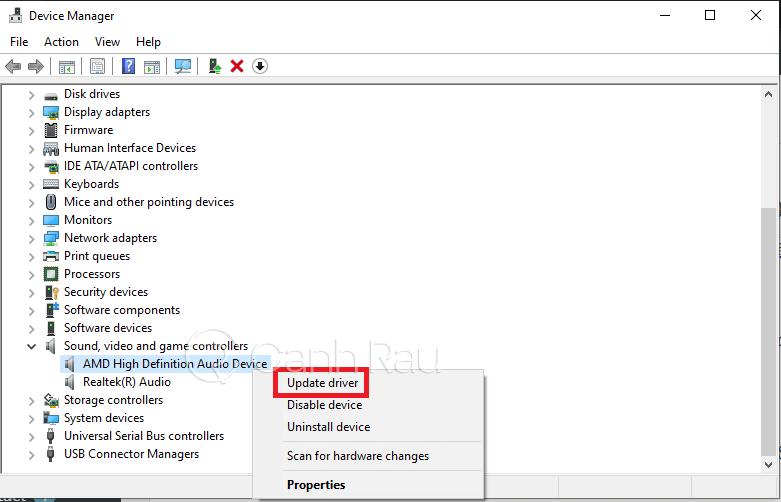 Sửa lỗi máy tính Windows 10 không nhận tai nghe hình 14