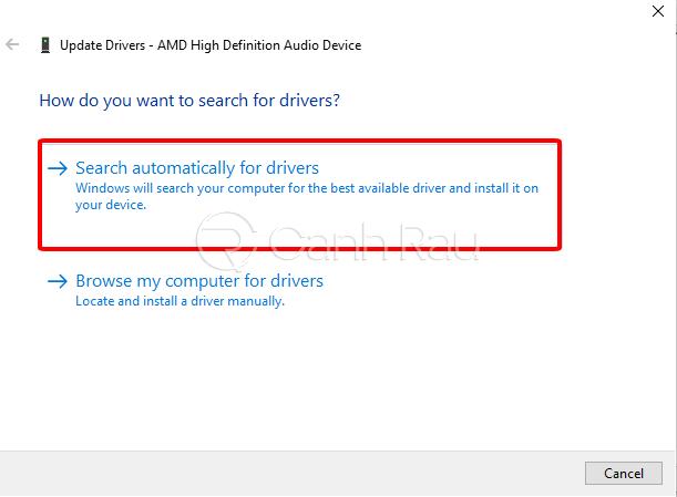 Sửa lỗi máy tính Windows 10 không nhận tai nghe hình 15