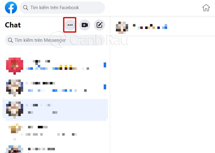 Cách bỏ ẩn tin nhắn trên Messenger hình 5