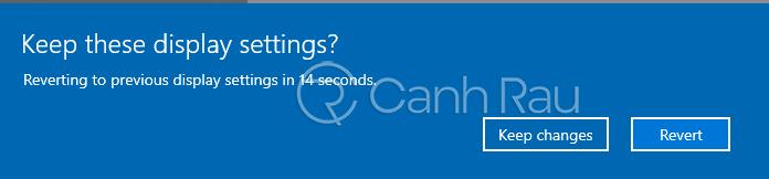 Cách chỉnh độ phân giải màn hình Windows 10 hình 3