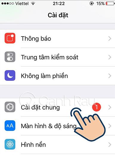 Cách chụp màn hình iPhone 8 Plus hình 2