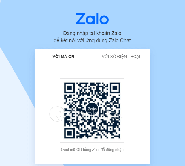 Cách đăng nhập Zalo bằng mã QR hình 5