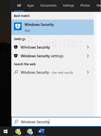 Cách diệt virs trên máy tính Windows 10 hình 4