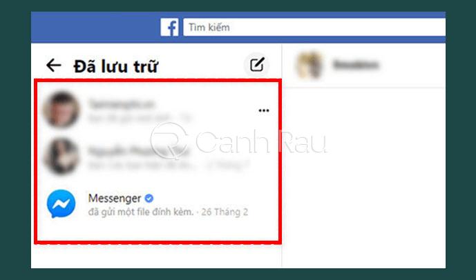 Cách lấy lại tin nhắn đã xóa trên Facebook hình 26