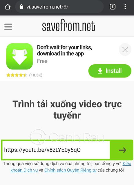 Cách tải video trên Youtube về điện thoại hình 11