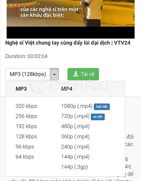 Cách tải video trên Youtube về điện thoại hình 4