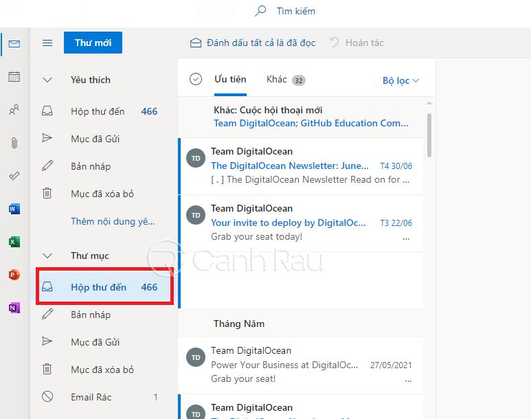 Cách thoát tài khoản Outlook hình 1