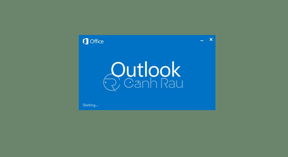 Cách thoát tài khoản Outlook hình 7