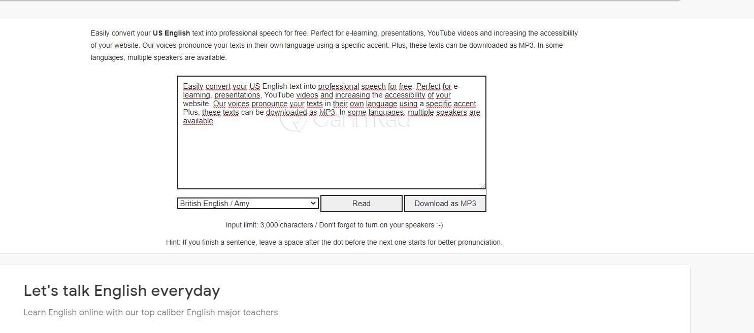 Chuyển văn bản thành giọng nói Online trên máy tính hình 5