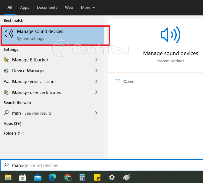 Hướng dẫn sửa lỗi the speakers not plugged in Windows 10 hình 4