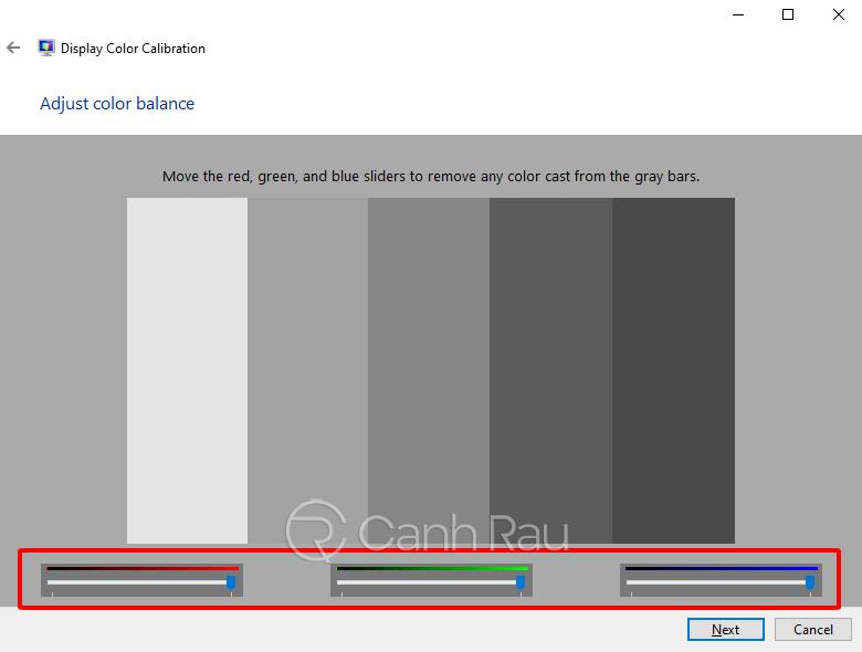 Cách chỉnh màu màn hình Windows 10 hình 6