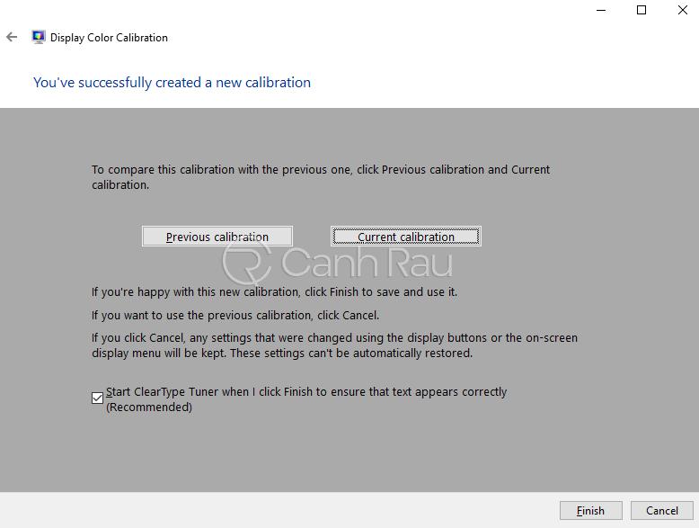 Cách chỉnh màu màn hình Windows 10 hình 7