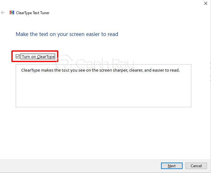 Cách chỉnh màu màn hình Windows 10 hình 8