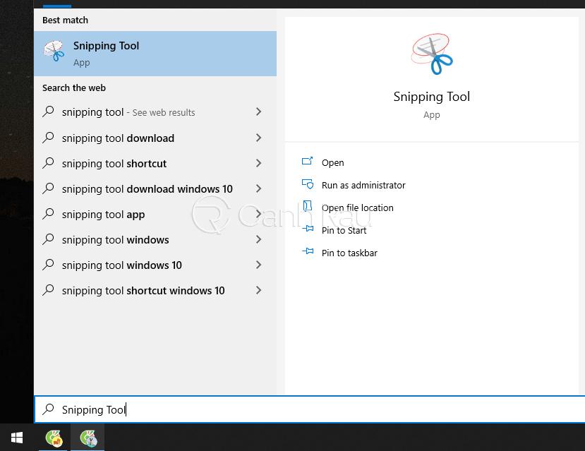 Cách chụp màn hình máy tính laptop Asus hình 2
